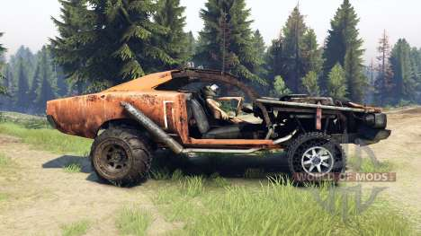 Dodge HL2 orange for Spin Tires