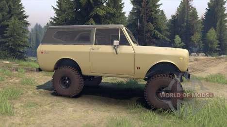International Scout II 1977 elk for Spin Tires