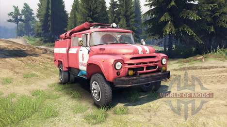 ZIL-130 AC-40 for Spin Tires