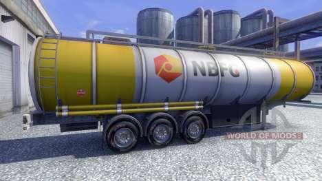 Bridgestone M730 for Euro Truck Simulator 2
