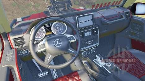 Mercedes-Benz G Bog Beast v2.0 for Spin Tires