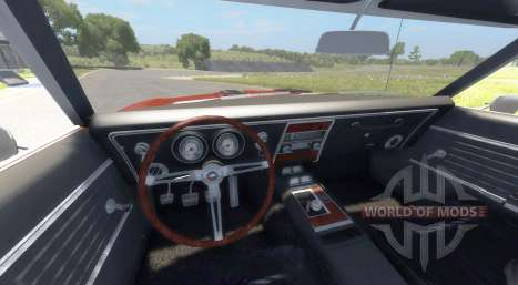 Chevrolet Camaro RS SS 396 1968 for BeamNG Drive