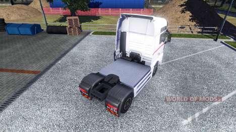 Skin Wheels Logistics on the truck MAN for Euro Truck Simulator 2