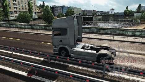 Graphics mod for Euro Truck Simulator 2