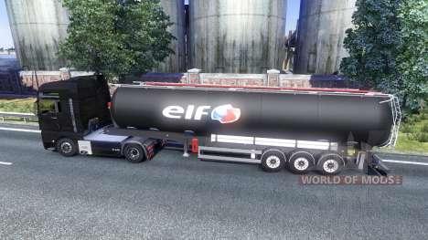 Trailers ELF for Euro Truck Simulator 2