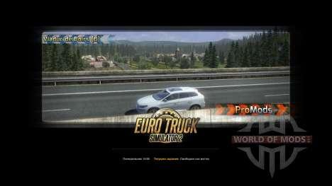 ProMods v1.95 for Euro Truck Simulator 2