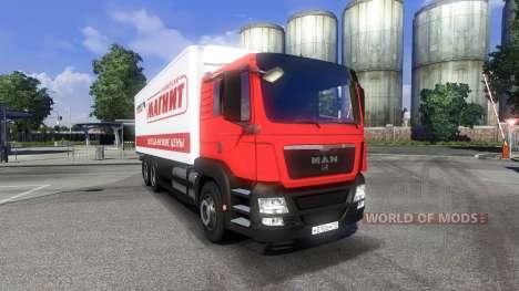 MAN TGS Tandem Magnet for Euro Truck Simulator 2