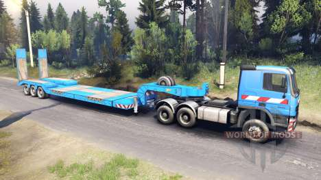 Mercedes-Benz Actros for Spin Tires