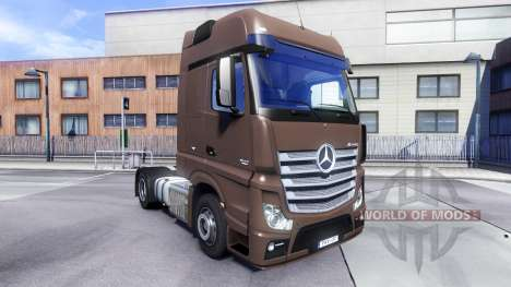 Mercedes-Benz Actros MPIV v1.3 for Euro Truck Simulator 2