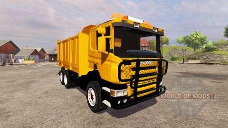 Scania P380 for Farming Simulator 2013