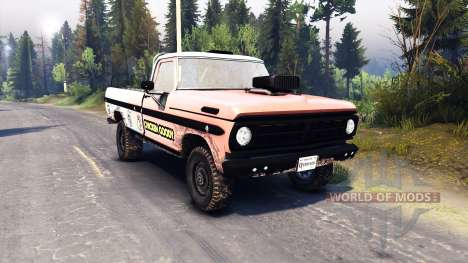 Ford F-100 custom PJ2 for Spin Tires