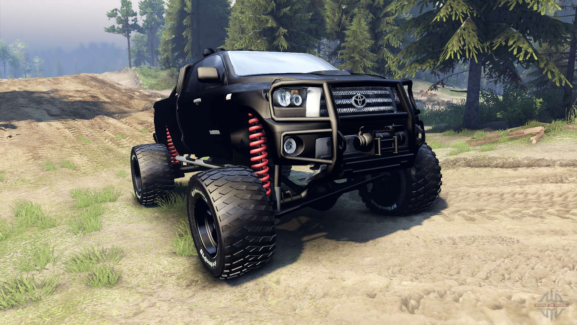 Toyota Tundra Off Road For Spin Tires