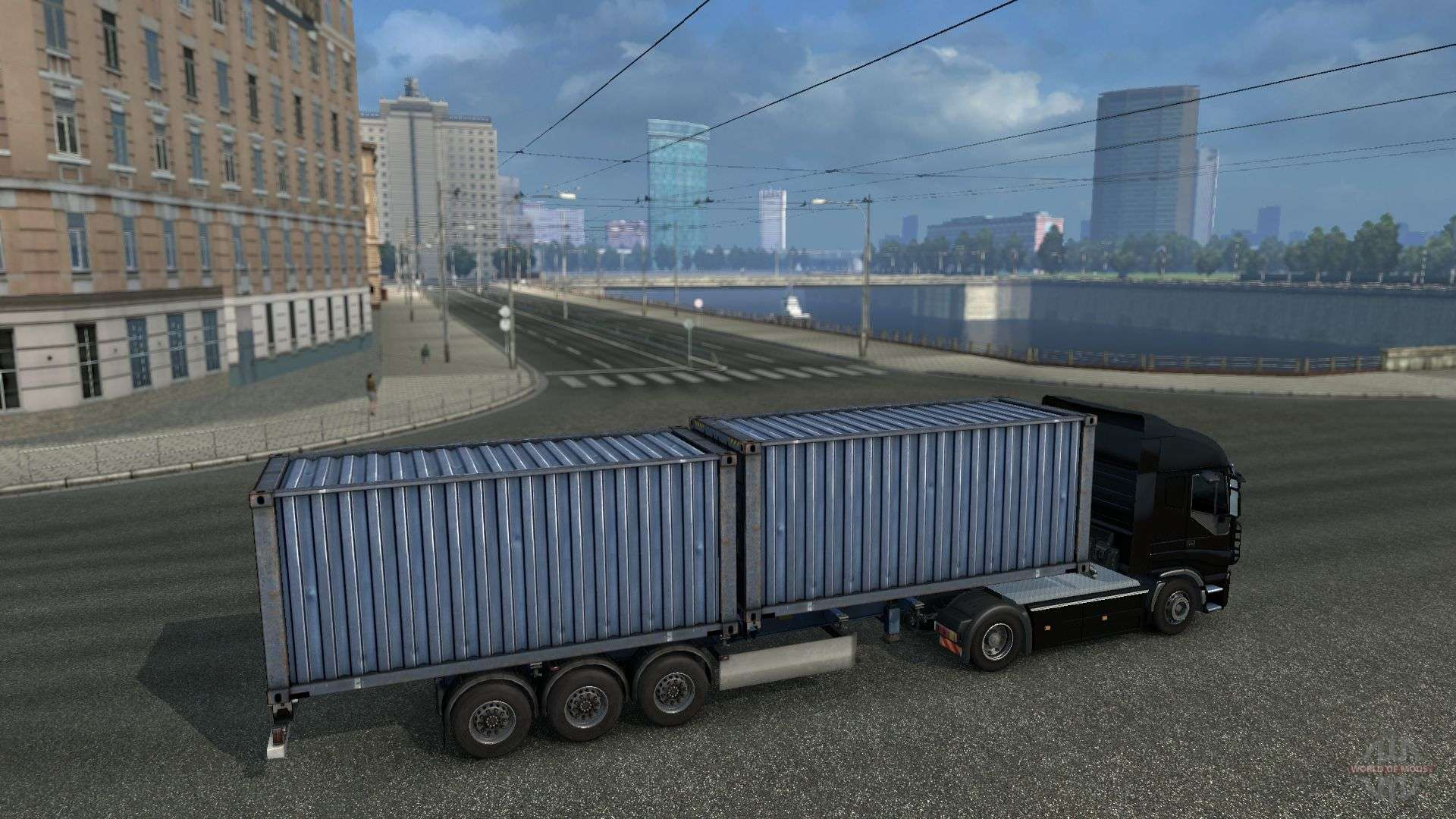 Connecting Of Maps Tsm Rusmap And Open Spaces For Euro Truck Simulator 2