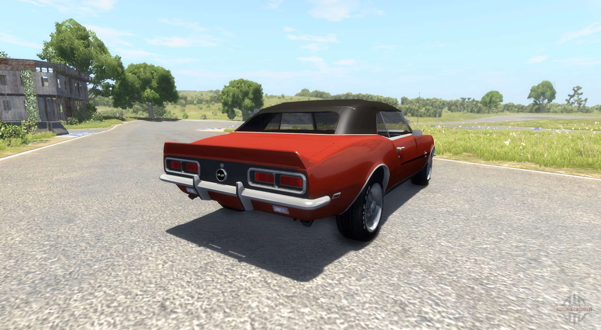 chevrolet camaro rs ss 396 1968 for beamng drive. Black Bedroom Furniture Sets. Home Design Ideas