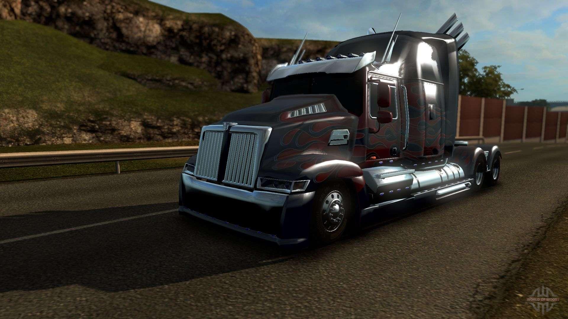 Optimus Prime Transformers Truck