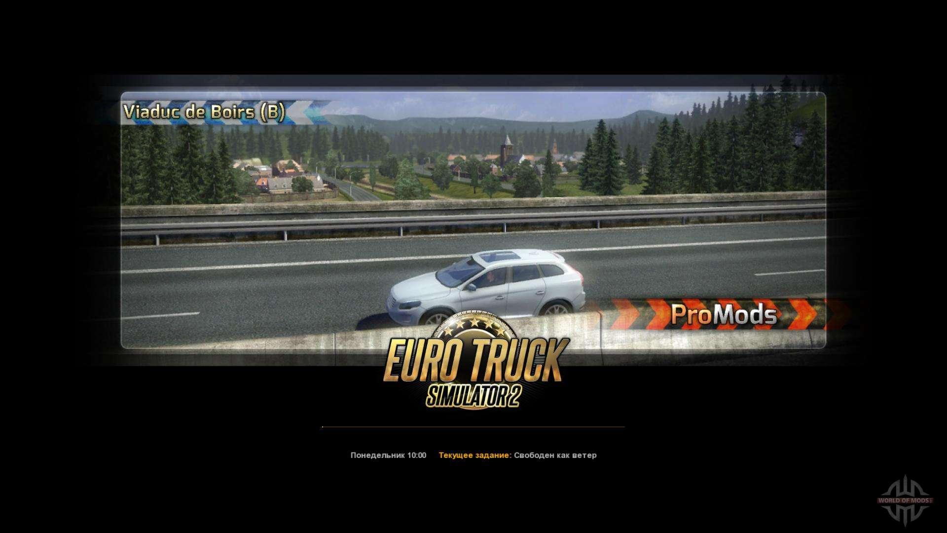 ProMods v1 95 for Euro Truck Simulator 2