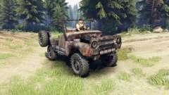 UAZ-469 rusty