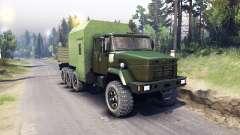 KrAZ-7140 green