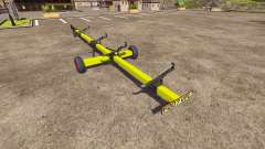 Trailer for harvester CLAAS
