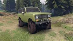 International Scout II 1977 grenoble green