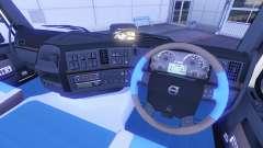 New interior at Volvo trucks