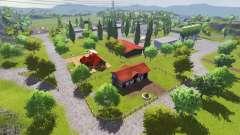 Hagestedt v1.1 for Farming Simulator 2013