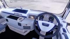 New interior tractors MAN