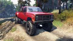 Chevrolet Silverado Dually Crew Cab v1.4 red
