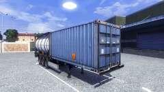 The container semi-trailer