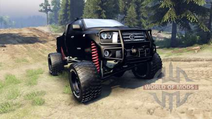 Toyota Tundra off-road for Spin Tires