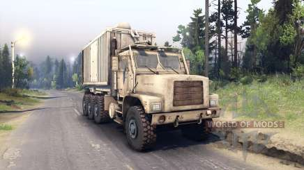 Oshkosh MTVR 8x8 PLS-LHS Final for Spin Tires