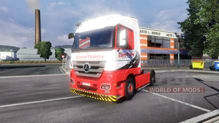 Mercedes-Benz Actros EuroTrans for Euro Truck Simulator 2