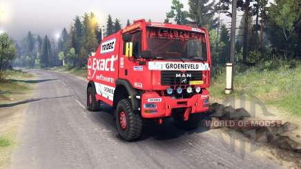 MAN TGA Dakar for Spin Tires