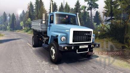 GAZ-3309 for Spin Tires