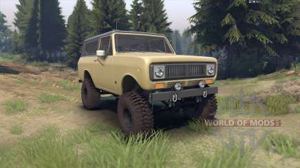 International Scout II 1977 elk for Spin Tires