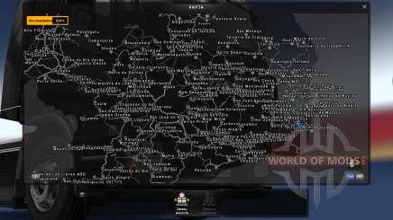 Mapa Brasil Total 4.2 [BUS VERSION] for Euro Truck Simulator 2