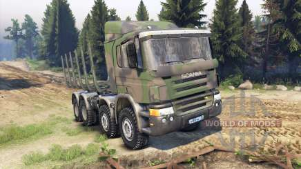 Scania Timber for Spin Tires