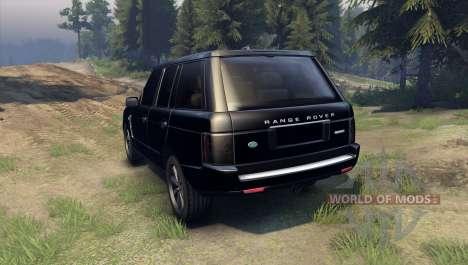 Range Rover Sport Black Final for Spin Tires