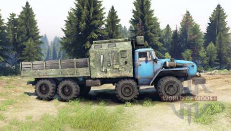 Ural-6614 v4.0 for Spin Tires