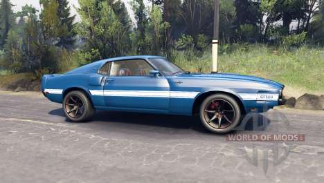 Ford Shelby GT500 for Spin Tires