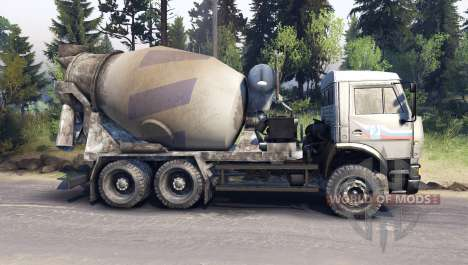 KamAZ-6520 for Spin Tires