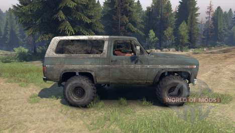 Ford Bronco for Spin Tires