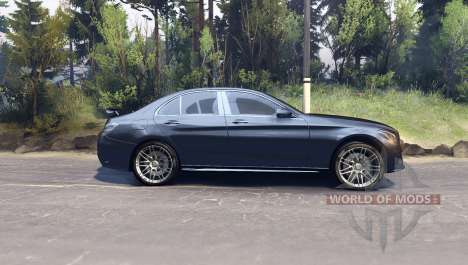 Mercedes Benz C250 Brabus for Spin Tires