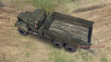 KrAZ-255 for Spin Tires