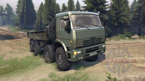 KamAZ-6560 for Spin Tires
