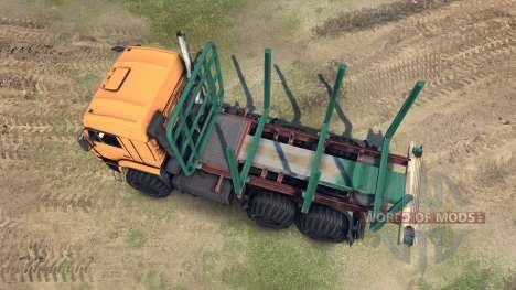 KamAZ-65115 for Spin Tires