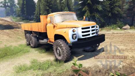 ZIL-133 GYA for Spin Tires