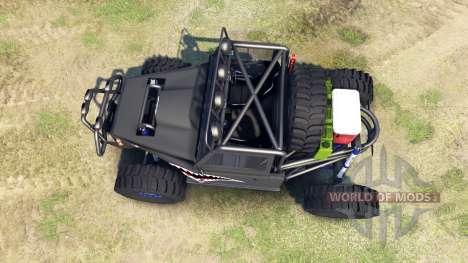 Toyota Land Cruiser Krawler for Spin Tires