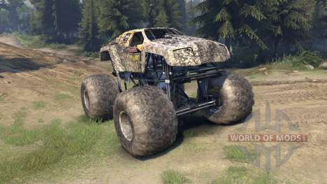 Monster Maximus for Spin Tires