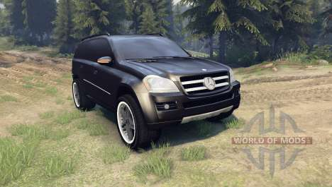 Mercedes-Benz GL 500 for Spin Tires
